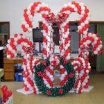 Композиции из латексных воздушных шаров