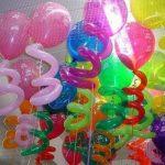 Композиция из латексных воздушных шаров и шаров ШДМ