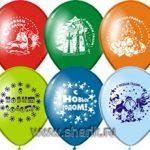 Купить воздушные шарики к новому году